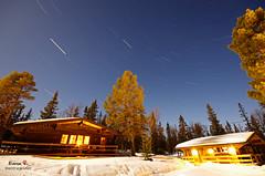 Funsdalen by Night (Rixoon) Tags: night stars photography star long exposure pentax sweden trails sigma sverige startrails k5 sigma1020 funsdalen 30min erixon rixoon erixonrphotography fjllkllan