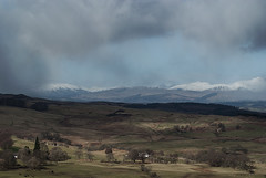 View West from Sauchie Crag (Mick Silos) Tags: march scotland spring sony a200 trossachs 2014 crag sauchie