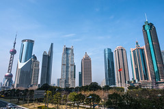 Lujiazui - Image 171 (www.bazpics.com) Tags: china city tower glass skyscraper shanghai centre area tall pudong financial jinmao lujiazui swfc