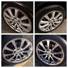 "Before and After Lexus alloy wheel repair by We Fix Alloys • <a style=""font-size:0.8em;"" href=""http://www.flickr.com/photos/75836697@N06/13643026673/"" target=""_blank"">View on Flickr</a>"