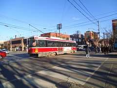 CLRV #4182 on Bathurst St. (generalpictures) Tags: ttc streetcar torontoontario torontotransitcommission clrv 511bathurst canadianlightrailvehicle clrv4182
