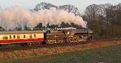 Evening Sun (Steaming5043) Tags: sunset sunlight railway trains steam preserved gcr 9f