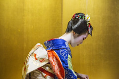 Graceful Geisha (InsideAsia Tours) Tags: travel japan kyoto maiko geisha