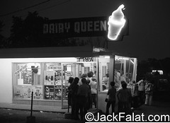 Hot Summer Nights In Queue. Dairy Queen. Wayne Avenue, Paterson, NJ. (Jack Falat) Tags: paterson nj new jersey jack falat times com jackfalat carolina south island huntington beach murrells inlet pawleys georgetown sc litchfield grand strand myrtle