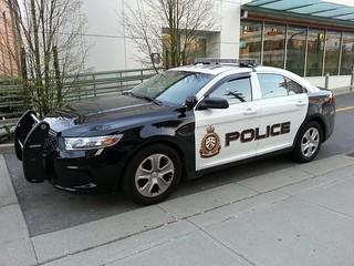 West Vancouver, BC Patrol Vehicle WV1113