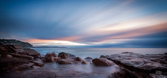 Blowhole (Mike Hankey.) Tags: seascape sunrise focus published legacy whalebeach focus14