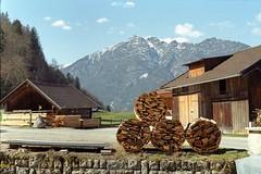 Classic Bavarian landscapes on Kodak Gold (Nekr0n) Tags: leica 2 mountain