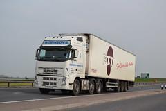 Volvo FH 'Robinson's Transport Ltd' reg YR59 AVD (erfmike51) Tags: lorry artic volvofh robinsonstransportltd