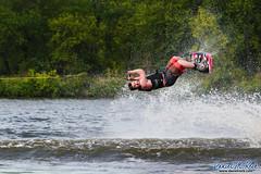 Right This Way (Daniel M. Reck) Tags: water sport danger scary unitedstates performance iowa spray waterskiing athlete tow feature stunt cedarrapids waterskiier fiveseasonsskiteam dmrfeature