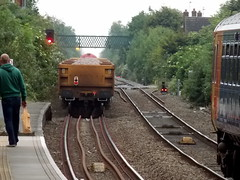 60024 at the head of 6L99 1400 Spalding to Whitemoor Yard L.D.C Gbrf (duffpete) Tags: spalding 60024 dbschenker 6l99 31stmay2014