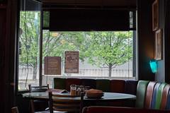 Stellar Pizza (redyamflan) Tags: seattle restaurant georgetown pizza stellarpizza fujixpro1