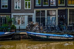 (McQuaide Photography) Tags: city holland water netherlands amsterdam canon boot eos boat europe nederland dslr stad 100d mcquaidephotography