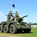 Saladin Armoured Car at Wings & Wheels 2011