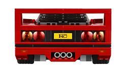 LEGO Creator 10248 - Ferrari F40 (www.giocovisione.com) Tags: lego ferrari f40 ferrarif40 legocreator legoferrari