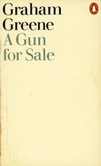 Penguin Books 1896 - Graham Greene - A Gun for Sale (swallace99) Tags: vintage penguin paperback 70s derekbirdsall