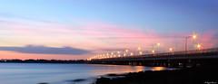 GoodBye Sun (im.Asif) Tags: blue sunset sky canon landscape lights yallow 600d
