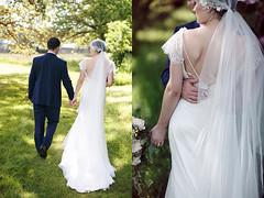 Chrissie & Jacob (Iona Taberham) Tags: wedding portrait love vintage garden groom bride woods couple veil natural bokeh lace style weddings weddingdress bridal weddingday brideandgroom weddingphotography weddingcouple