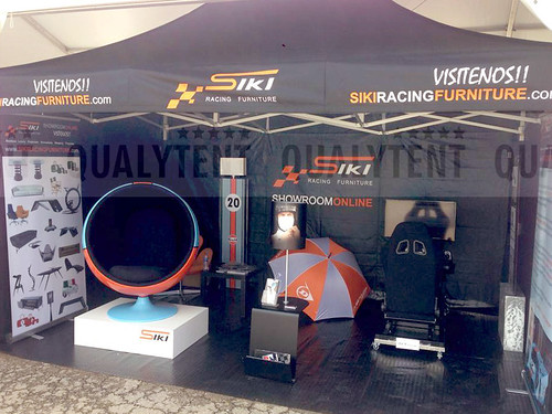 Carpas plegables, carpa de 3x4.5m personalizada para Siki Racing Furniture, carpas estampadas