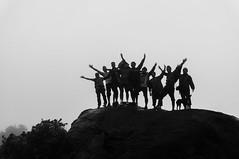 Bangalore Hikers (criatvt) Tags: india mist mountain fog trek bangalore peak hike dew monsoon coorg madikeri tadiandamol bangalorehikers