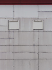 Facia - EXPLORED (Tim Dennell) Tags: face building resembles looks like staples abstract surface wall