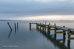 Havre De Grace_ (strjustin) Tags: fishing boating beach havredegrace longexposure pier maryland beautiful canon80d sunrise