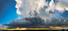 2016 Storm Panorama (Dan's Storm Photos & Photography) Tags: thunderstorm thunderstorms thunderhead thunderstormbase thundershower thunderheads towers updraft updrafts clouds cumulonimbus convection cumulus crepuscular crepuscularrays cumulusclouds weather nature landscape landscapes anvil anvils shelfcloud shelf shelfclouds rain rainshaft rainshafts skyscape skyscapes sky strongthunderstorm strongthunderstorms inflow inflowtail sunset sunsets