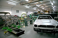 Panel Shop (Trev Earl) Tags: canon classiccar auction works 5d astonmartin newportpagnell