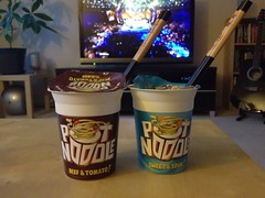 Pot Noodles (pupp0751) Tags: food dinner lunch eating fastfood chopsticks noodles potnoodle notnoodles