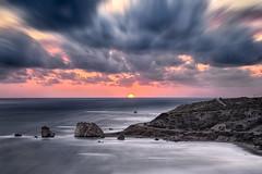 Dramatic sunset at Aphrodite