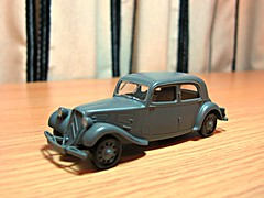 Citreon Traction Avant (orangechallenger) Tags: model models finish assemble kit tamiya