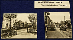 Library Exhibition on Weymouth.. Commercial road and Tramway..K.5 AND K.8  Notes.. (Tadie88) Tags: exhibitions oldphotos weymouth weymouthlibrary