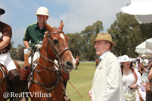 Ed Lauter, Celebrity Cup Polo Match for Charity