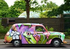 Colourful London Cab
