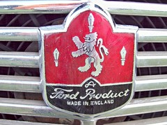 45 Ford Badge (robertknight16) Tags: ford badge british