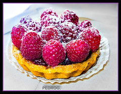 Raspberry Tart (PEDROs photos from Boca) Tags: travel food walks pastry pinecrest productphotography
