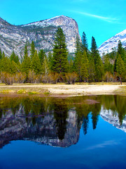 High_Sierra_Reflections (S E Brendel) Tags: california park trees winter cliff mountain lake snow storm mountains reflection tree yosemitefalls nature water beauty pine clouds creek forest river landscape mirror early us waterfall spring pond woods rocks stream crystal bare nevada lagoon falls cliffs sierra clear national valley yosemite bridalveil pristine unitedstate