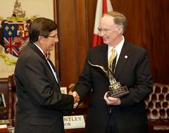 06-27-13 Gov. Bentley receives awards from Vietnam Veterans of America