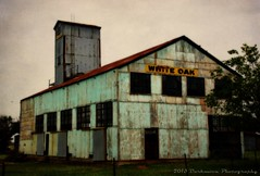 WHITE OAK REVISITED (Darkmoon Photography) Tags: texture abandoned industry oklahoma route66 decay rusty gimp processing weathered crusty orton darkmoon skeletalmess