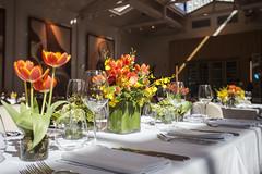 Centro de mesa - composição (Flor e Forma) Tags: flowers wedding orange flores laranja decoration casamento decoração cantaloup cerimônia florforma floreforma decoraçãoaérea