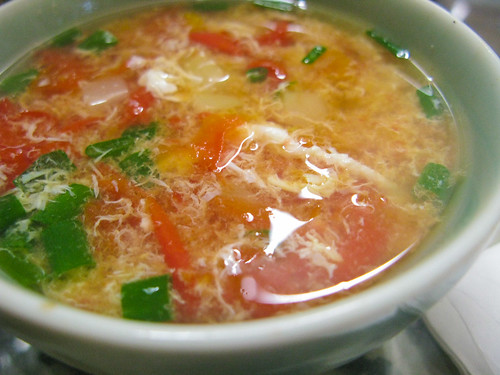 chinese Tomato Egg Drop Soup recipe
