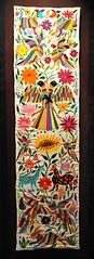 Otomi Embroidery Hidalgo Mexico (Teyacapan) Tags: mexico map embroidery mexican museo textiles hidalgo bordados otomi tenangos