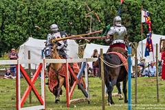 John De Groom & Prince Tudor score again (Proper Job Productions) Tags: tudor knights lance knight joust breaking shattering recreationist joustaplaisance johndegroom