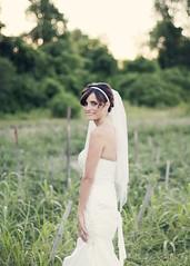 Bride (childekatherine) Tags: flowers wedding light sunset white nature beautiful beauty field canon 50mm bride dress 60d