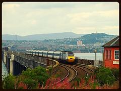Southbound Express (B4bees .(2m views)) Tags: city travel bridge travelling river scotland scenery fife dundee tracks rail trains passengers tay express commuters intercity 125 taybridge hst eastcoastmainline 43378 eastcoasttrains visiteastscotland highspeedtran