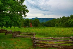 Historic Cabin in Cade's Cove (QuakerVille) Tags: park vacation usa mountain nationalpark cove anniversary tennessee north northcarolina logcabin national smokey carolina np joann townsend cadescove cades gsmnp smokeymountain jonmark jonmarkdavey