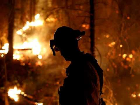 DRY CONDITIONS FUELING CALIFORNIA WILDFIRES