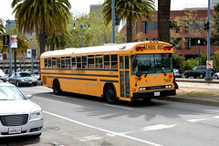 American School Bus - Michael's Transportation 6234 (Howard_Pulling) Tags: sf sanfrancisco california ca bus photo coach nikon picture april coaches 2013 hpulling howardpulling d5100
