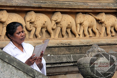IMG_8671 (amarawansha1) Tags: women mother srilanka tempel poyaday kalaniya picbynuwanamarawansha silmathawa