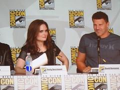 David Boreanaz & Emily Deschanel Comic Con 13b (jfer21) Tags: comiccon13 bones davidboreanaz emilydeschanel buffythevampireslayer angel olympusepl2