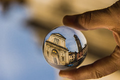 Crystal ball photography 4 (Franco Beccari) Tags: world city trip travel blue red vacation italy white holiday black color colour green art tourism me nature glass yellow architecture night wow photography photo cool nikon europe italia day crystal fisheye tuscany nikkor toscana crystalball pontremoli d600
